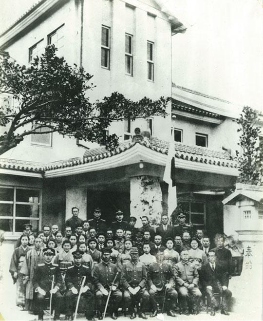1941年(昭和16年)当時の沖縄ホテル