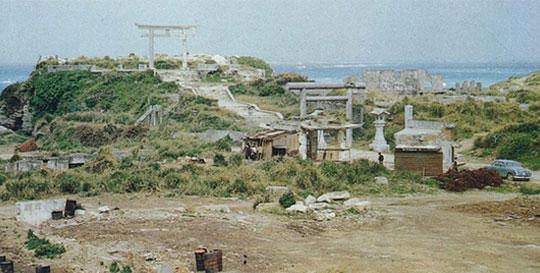 1945年(昭和20年)焼失した沖縄ホテル