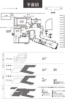 沖縄ホテル平面図